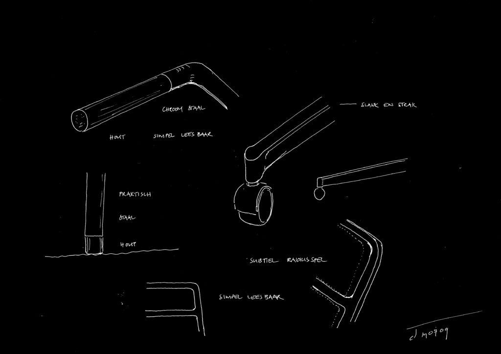 Chair design - details